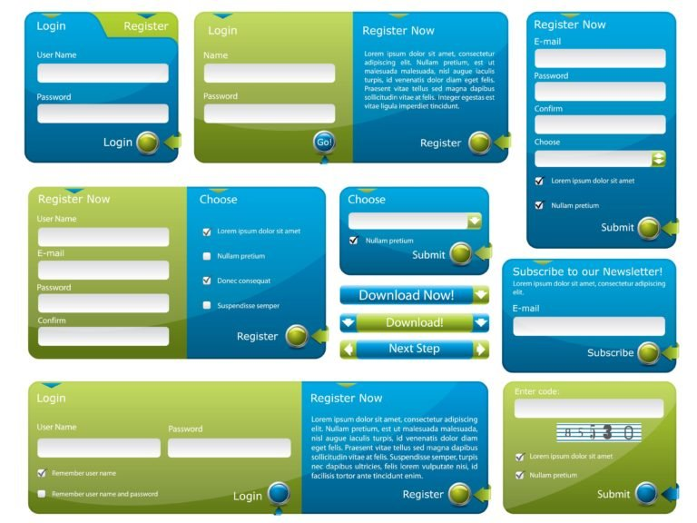 Interactive Web Forms